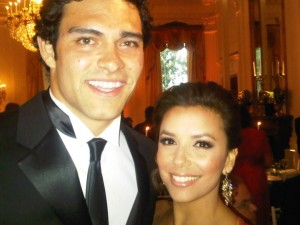 Mark Sanchez's girlfriend Eva Longoria