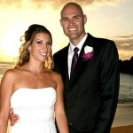 Phil Dalhausser's wife Jennifer Corral @ nbcolympics.com