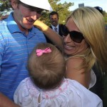 Brandt Snedeker's wife Mandy Roth @ AP Photo