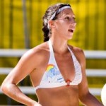 Phil Dalhausser's wife Jennifer Corral @ volleyshots.com