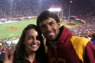 Ricky Berens girlfriend Rebecca Soni
