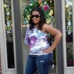 Tyson Gay's girlfriend Shoshana Boyd