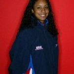 Cullen Jones girlfriend Maritza Correira @ viewimages.com