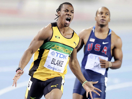 Yohan Blake's girlfriend and future career aspirations