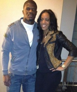 Andre Johnson's girlfriend (ex) Dionne Reese