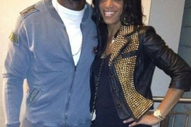 Andre Johnson's girlfriend Dionne Reese