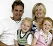Ian Poulter's wife Katie Poulter and their kids