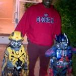 Lashinda Demus' Husband Jamel Mayrant and their twin boys