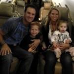 Trevor Immelman's wife Carminita Immelman and kids