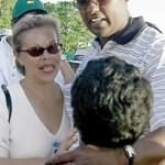 Vijay Singh's wife Ardena Seth @ Augusta Chronicle