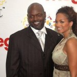 Emmitt Smith wife Pat Smith  @ leliacheley.blogspot.com