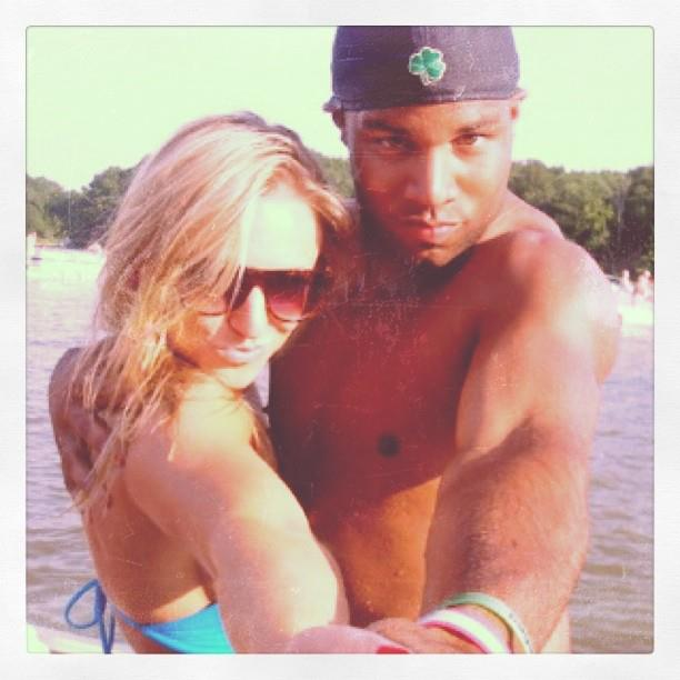 Golden Tate's wife Elise Tate