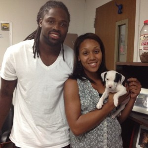 Torrey Smith's girlfriend Chanel Williams