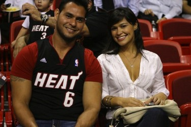 Anibal Sanchez's wife Ana Marrero @  total-prosports.com