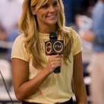 Christian Ponder's girlfriend Samantha Steele @ ESPN