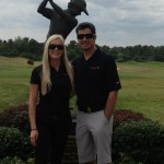 Martin Truex's girlfriend Sherry Pollex