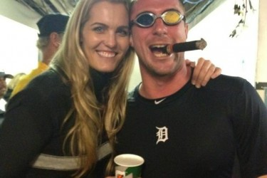 Max Scherzer's girlfriend Erica May  - Twitter