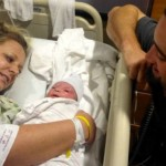 Pat Neshek's newborn son