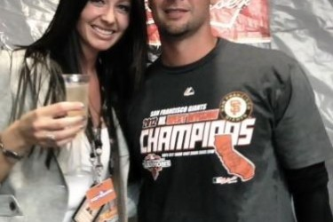 Ryan Vogelsong's wife Nicole Vogelsong