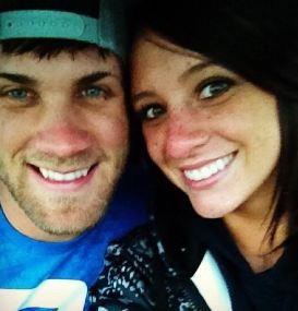 Bryce Harper's wife Kayla Harper