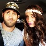 Byrce Harper's girlfriend Kayla Varner - Instagram