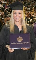Collin Klein's wife Shalin Spani @kstatesports.com