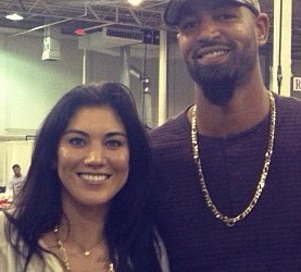 Hope Solo's husband Jerramy Stevens