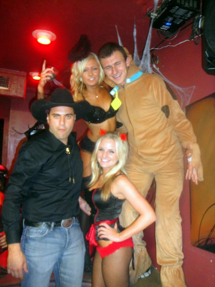 Johnny Manziel Party