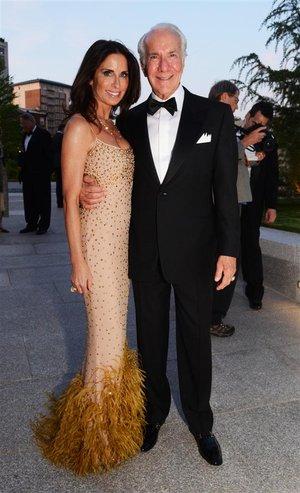 Philadephia Flyers Owner Ed Snider's wife Lin Spivak
