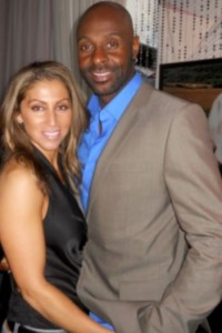 Jerry Rice's ex wife Jackie Rice and girlfriend Latisha Pelayo
