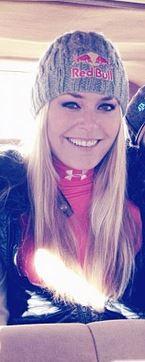 Tiger Woods' girlfriend Lindsey Vonn