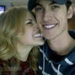 Joey Logano's girlfriend Sabrina Simpson