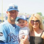 Alex Gordon's wife Jamie Gordon