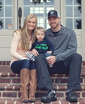 Chase Headley's wife Casey Headley