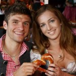 Thomas Muller's wife Lisa Muller