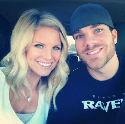 Chris Davis' wife Jill Davis
