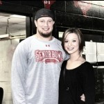 Lane Johnson's wife Chelsea Johnson