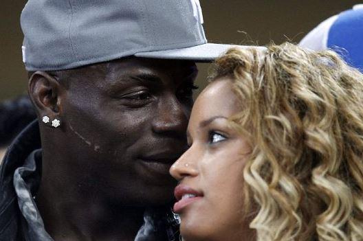 Mario Balotelli's girlfriend Fanny Robert Neguesha