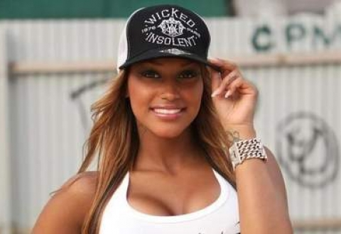 Mario Balotelli's girlfriend Fanny Robert Neguesha