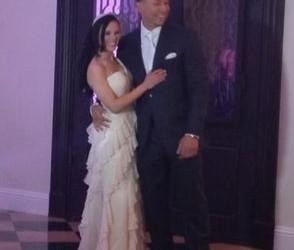 Carlos Gonzalez's wife Indonesia Riera - Twitter @dexterfowler