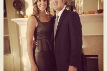 Kevin Chappell's girlfriend Elizabeth Petrie - Twitter