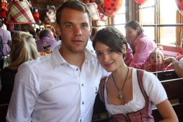 Manuel Neuer's girlfriend Kathrin Glich