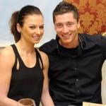 Robert Lewandowski's fiancee Anna Stachurska @ TotalFootballMadness.com