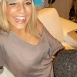 Roman Weidenfeller's girlfriend Lisa Rossenbach - Facebook
