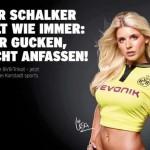 Roman Weidenfeller's girlfriend Lisa Rossenbach