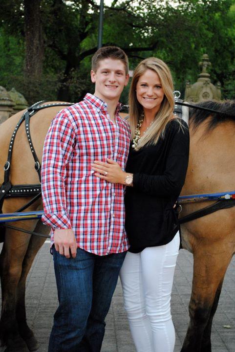 Torey Krug's fiancee Melanie Flood