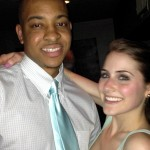CJ McCollum and his girlfriend Elise Esposito
