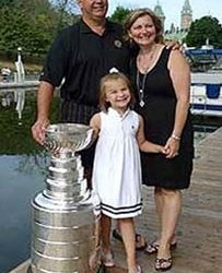 Claude Julien's wife Karen Julien - HHOF.com