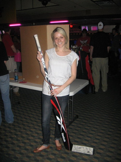 Corey Crawford's girlfriend Sylvie Cormier
