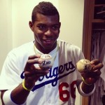 Yasiel Puig's girlfriend Nicole Chaves - Instagram